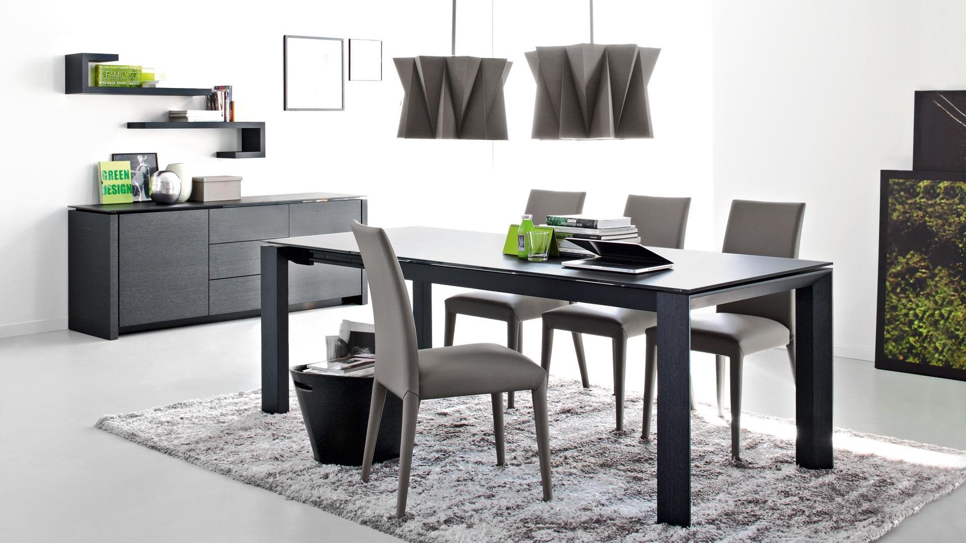 Tavolo omnia con sedie anais saguto arredi - Dwg tavolo con sedie ...