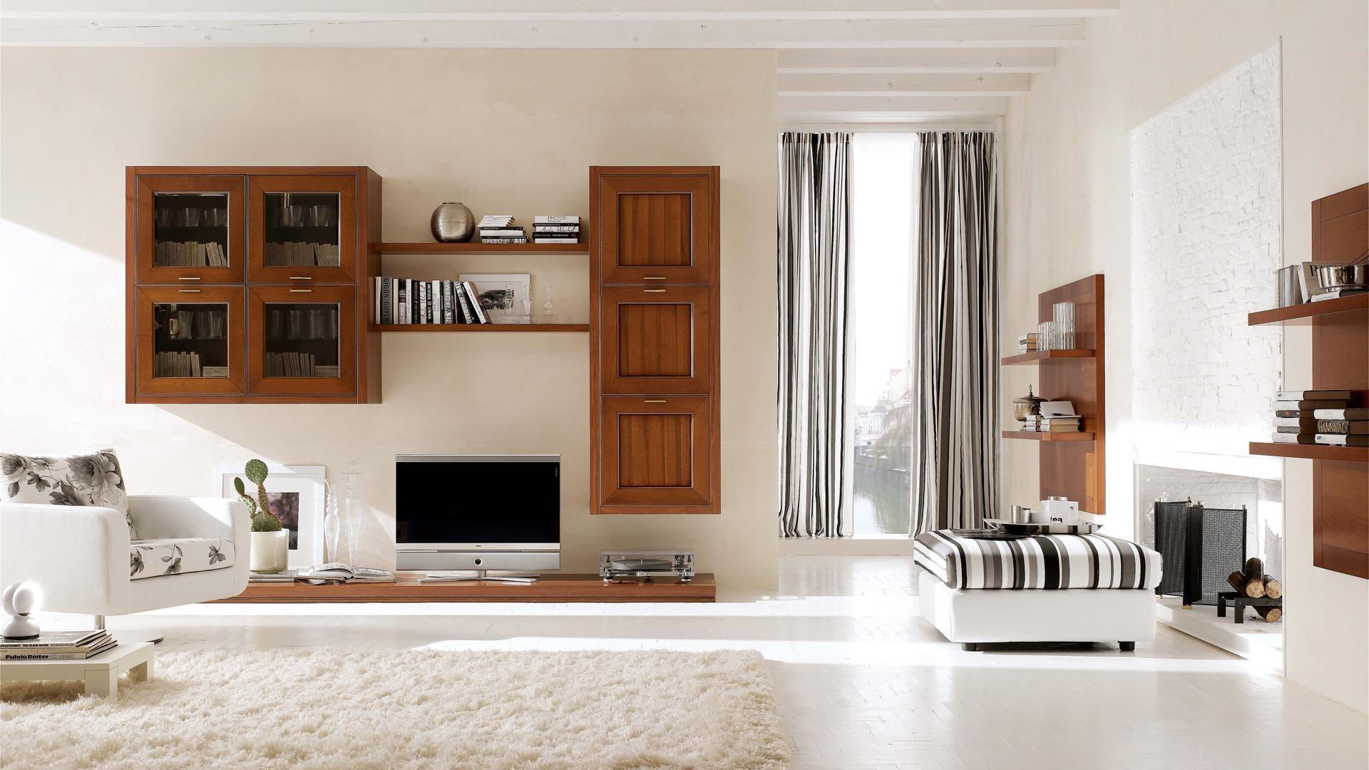 Foto arredo soggiorno moderno 62