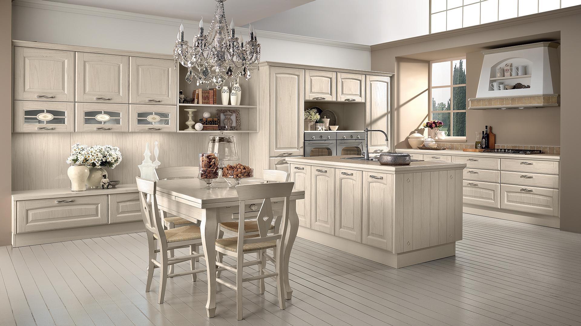 Cucine attrezzate cucina e parete attrezzata insieme for Scavolini pareti attrezzate
